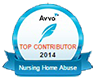 Avvo badge for Top Contributor 2012