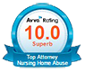 Avvo Badge for 10 rating